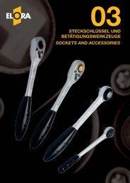 steckschlüssel betätigungswerkzeuge sockets and accessories