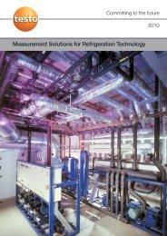 Measurement Solutions for Refrigeration Technology - PSC Co.,Ltd