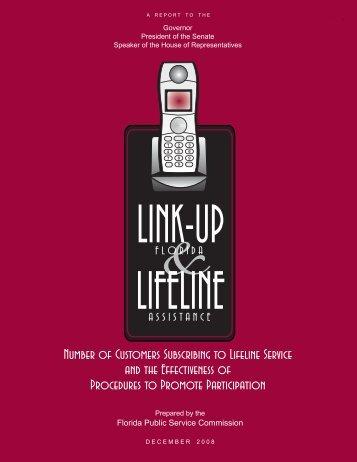 Lifeline Report - Public Service Commission