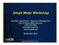 Smart Meter Workshop - Public Service Commission