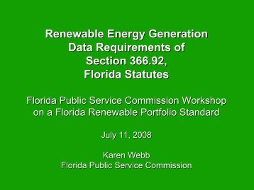 Karen Webb - Public Service Commission