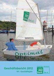 Geschäftsbericht 2012 - PSD Bank Kiel eG