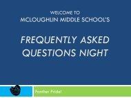 6th Grade FAQ - Pasco School District