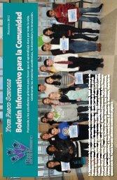 Boletín Informativo para la Comunidad P - Pasco School District