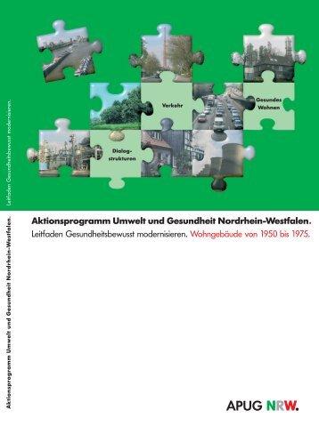 Leitfaden Gesundheitsbewusst modernisieren - APUG NRW