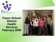 Nurses - Pasco School District