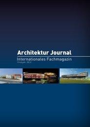 Da fährt auch die Umwelt gut - ARCHITEKTUR JOURNAL