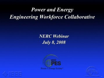 Power and Energy Engineering Workforce Collaborative