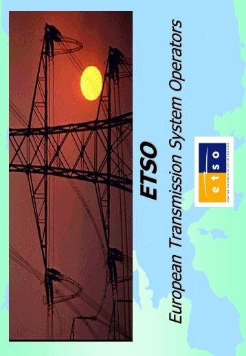 ETSO - Association of European Transmission Operators