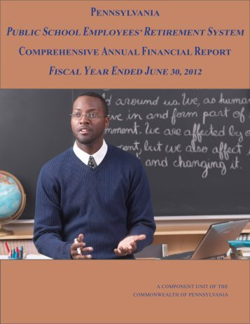 a complete copy of the 2012 CAFR Report! - PSERs