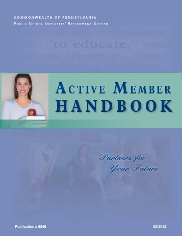 to download our Active Member Handbook in PDF format. - PSERs