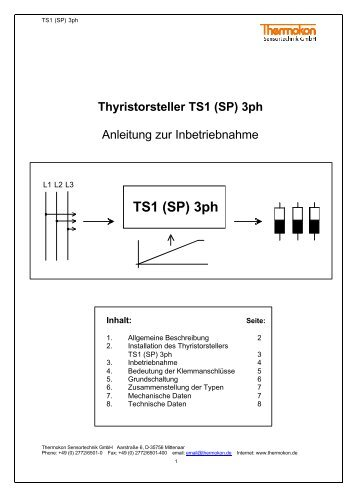 TS1 (SP) 3ph - Betec Controls BV
