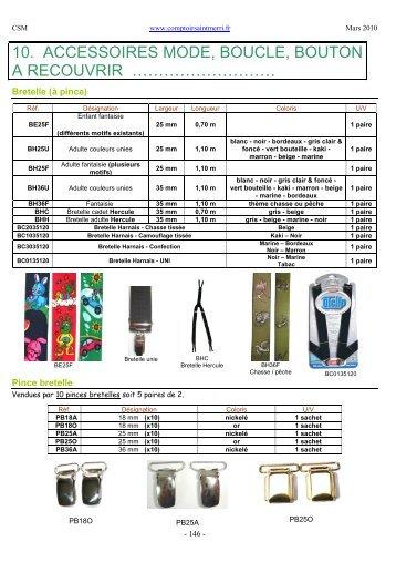 2010 03 Catalogue Général CSM Partie 3 - Comptoir Saint Merri