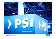 Präsentation WEEE Elektro - PSI