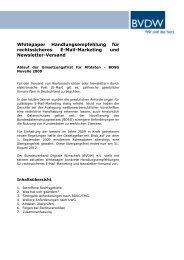 Whitepaper Handlungsempfehlung für rechtssicheres E-Mail ...