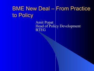 view this presentation [pdf format] - Policy Studies Institute