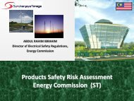 Products Safety Risk Assessment Energy Commission (ST) - Psiiss.net