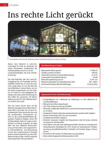 Projekte & Objekte Juli 2012 (PDF) - PSL AG