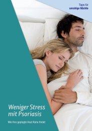 Weniger Stress mit Psoriasis,pdf