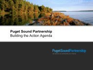 What is the Action Agenda? - Puget Sound Partnership