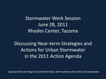 Draft Show Stormwater Work Session June 28, 2011 Discussing ...