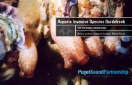 Aquatic Invasive Species Guidebook - Puget Sound Partnership