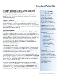April 12 - Puget Sound Partnership