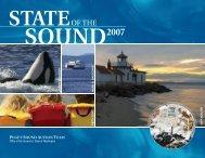 2007 State of the Sound (PDF) - Puget Sound Partnership