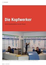Die Kopfwerker - Wissensmanagement in der Praxis - PS:PR