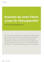 ManagerSeminare Führerschein für Führungskräfte? - Klaus Schuster