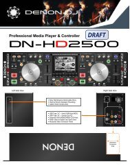 Professional Media Player & Controller DN-HD2500