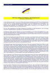 Turnier März 2004 PST-Trier eröffnete die Reitsaison mit ...