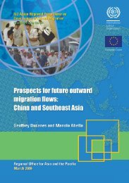 China and Southeast Asia - International Labour Organization