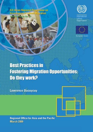 Best practices in fostering migration opportunities: Do they work?