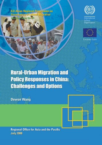 Rural-urban migration and policy responses in China