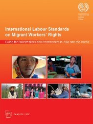 International Labour Stands On Migrant Workers' Rights