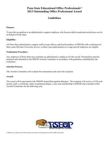 award phd thesis