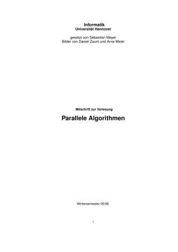 4 Parallele Algorithmen für Graphen