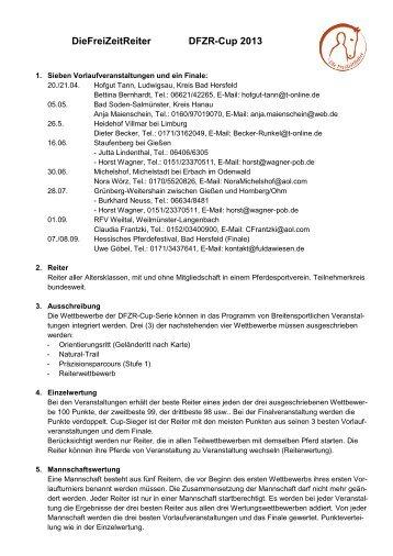 Freizeitreiter-Cup 2013
