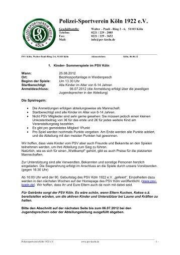 einladung zum 27. bärenschießen des vsv - köln  - sc-rednecks, Einladungen