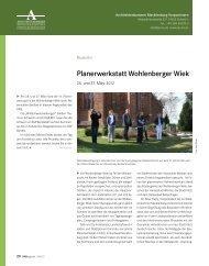 DAB MV Mai 2012 - Architektenkammer Mecklenburg-Vorpommern