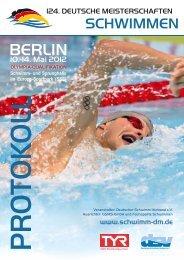 BerLin - PSV Cottbus 90 eV Abteilung Schwimmen
