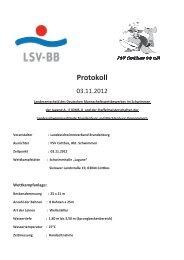 DMS-J Vorkampf Brandenburg + Mecklenburg Vorpommern, Cottbus