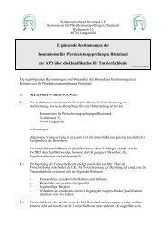 Ergänzende Bestimmungen zur APO für Turnierfachleute