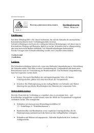 Geräteelemente Schraubensicherungen Einführung ... - FB ET/IT