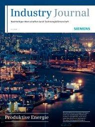 Industry Journal - Siemens AG
