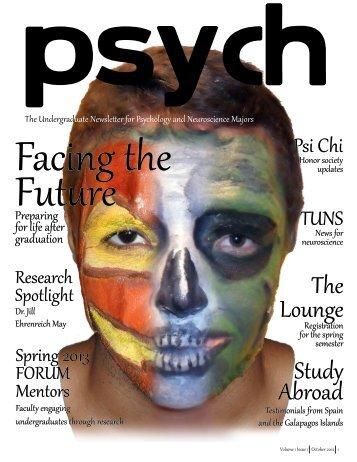 October, 2012 - Premier Issue - University of Miami, Psychology