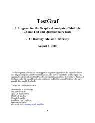 TestGraf - McGill University
