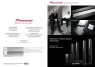 DVD Home Theatre Systems - Pioneer