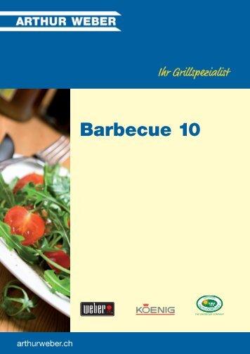 Barbecue 10 - Arthur Weber AG